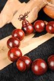 beads trä Arkivbilder