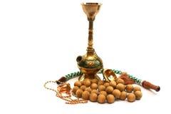 beads trä Royaltyfri Foto