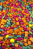 beads trä Royaltyfri Bild