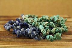 beads turkos Arkivfoton