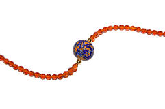 beads venetian exponeringsglas Arkivbilder