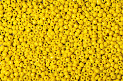 Beads yellow Royalty Free Stock Photography
