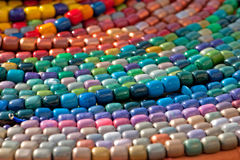 Beadwork Photographie stock