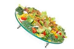 beaf chese健康肉混杂的蔬菜 免版税库存照片