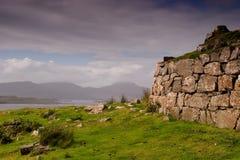 Beag brun grisâtre, île de Skye Image stock