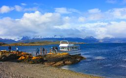 Beagle Channel Royalty Free Stock Images