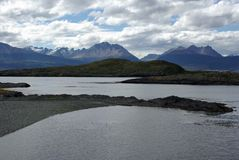 Beagle channel, Argentina Stock Images