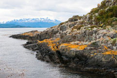 Beagle channel, Patagonia, Argentina Royalty Free Stock Image