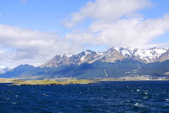 The Beagle Channel royalty free stock photography