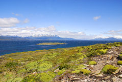 The Beagle Channel Stock Image