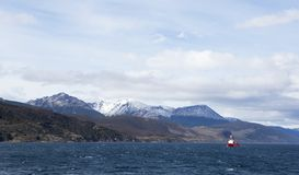 Beagle Channel, Patagonian Argentina. royalty free stock images