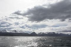 Beagle Channel, Ushuaia Royalty Free Stock Photography