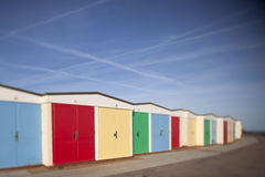Beah huts Royalty Free Stock Photography