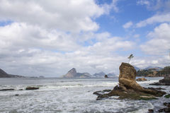 Free Beaiful View Icarai Beach Niteroi Stock Photos - 94808303