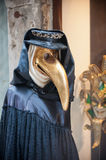 Beak doctor venetian mask Stock Photos