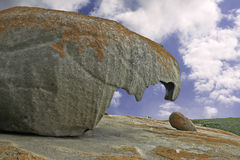 Beak-like formation at the Remarkable Rocks on Kan Stock Images
