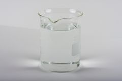 Beaker of Water Stock Photo