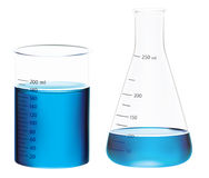 Beakers Royalty Free Stock Images