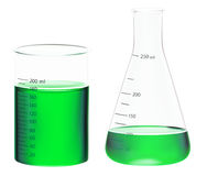 Beakers Stock Images