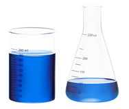 Beakers Stock Photo