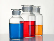 Beakers Royalty Free Stock Photo