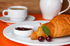 Beakfast still-life Royalty Free Stock Images