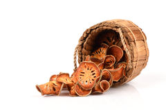 Beal (marmelos de Aegle (L ) Corrêa) Fotografía de archivo libre de regalías