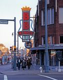 Beale Street, Memphis. Stock Photo