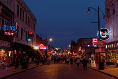 Beale Street Stock Photography