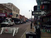 Beale Street Memphis Tennessee royalty free stock photo