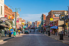 Beale street in Memphis Royalty Free Stock Image