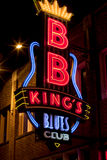 Beale Streetin Downtown Memphis, Tennessee Stock Photo