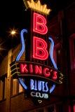 Beale Streetin Memphis do centro, Tennessee Foto de Stock