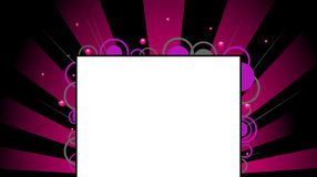 Beam background. Illustration of beam background - black & pink Stock Image
