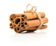Beam cinnamon roped Stock Photography