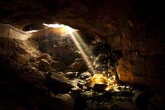 Beam gold Stock Image
