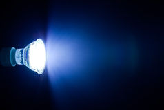 Beam of led lamp Stock Photography