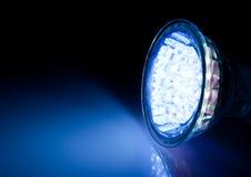 Beam of led lamp. Blue beam of led lamp Royalty Free Stock Photo