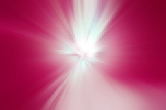 Beam of light. Beautiful beam of pink light background Royalty Free Stock Photography