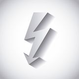 Beam load voltage. Isolated, vector illustration eps10 Stock Photo
