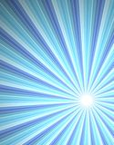 Beam of rays abstract background Royalty Free Stock Image