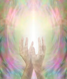 Beaming Beautiful Healing Energy Stock Image