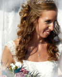 Beaming Bride Stock Photo