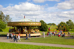 Beamish Carousel Royalty Free Stock Photo