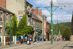 Beamish High Street Stock Photos