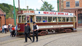 Beamish Tram Stock Photography