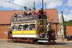 Beamish Tram Stock Image