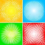 Beams backgrounds - eps 10 Stock Photography