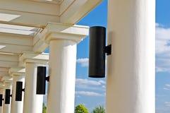 beams kolonner Fotografering för Bildbyråer
