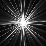 Beams of Light Rays on Black Stock Photos